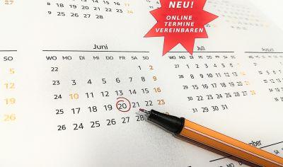 NEU! - SERVICETERMINE ONLINE VEREINBAREN